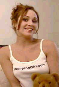 Vintage 1998 ShoppingGirl T-Shirt modeled by the talented Paula Harrison, performer in films A Man Apart, Michael Jackson's Ghosts, Bar Hopping, and Flypaper; television series The Man Show, and Abby; consultant for E! True Hollywood Story, and Dancing At The Blue Iguana; and lead choreographer for Skintight Dancers. https://www.imdb.com/name/nm0365806/?ref_=ttfc_fc_cl_t6