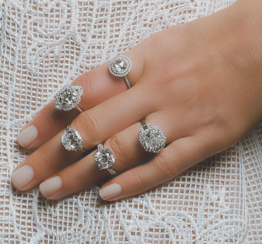 DavidAllenJewelry.com features a variety of stunning engagement ring styles with custom options.