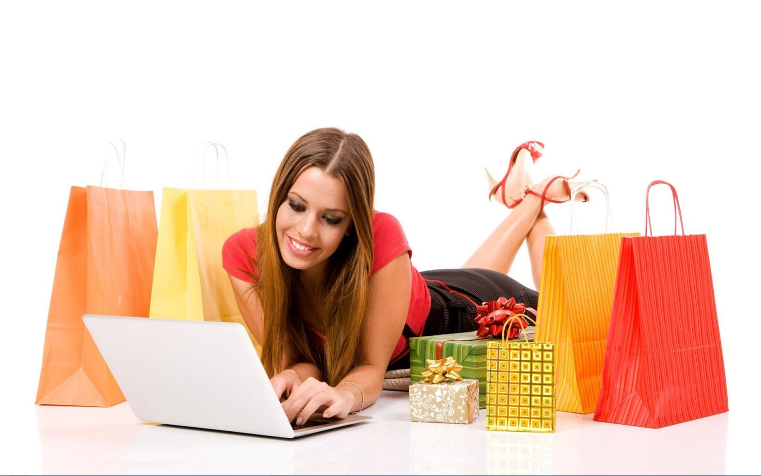 """Shopping Online Is Too Hard,"" said no woman ever. Photo via onlineebaystore.blogspot.com."